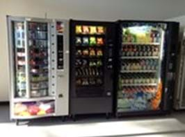 Environmentally friendly vending machines